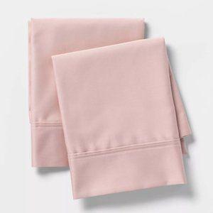 Blush Pink Standard Size Tri-Ease Pillow Case Set
